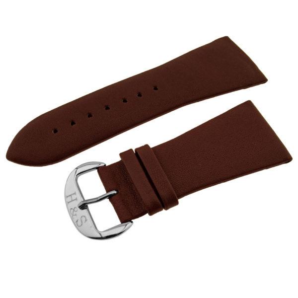 Ремешок H&S Turin красно-коричневый