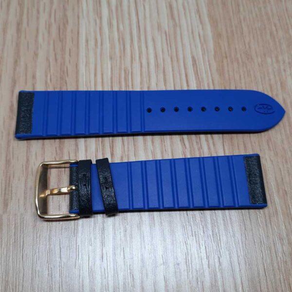 Ремешок Rhein Fils Diver 3323 синий 22мм