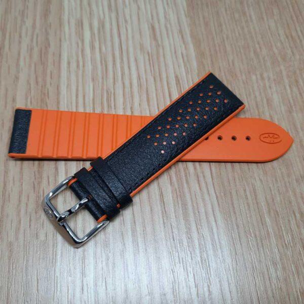 Ремешок Rhein Fils Diver-3323 оранжевый 22 на 20 мм