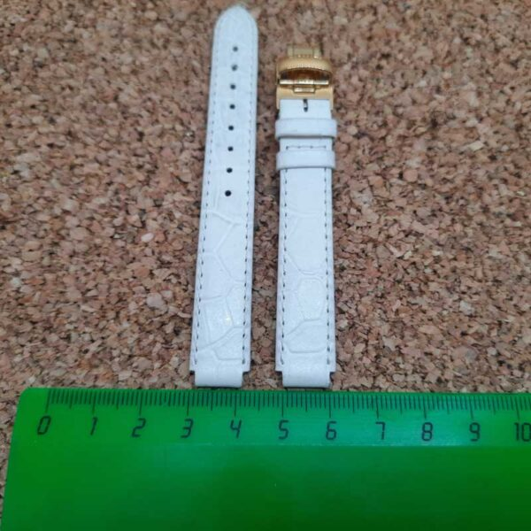 Ремешок BALMAIN 10 мм белый